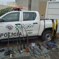 Homem é preso com arsenal em casa de Rio Preto